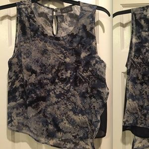 NWOT Astro nordstrom chiffon Blouse